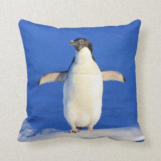 Penguin Hug Throw Pillow