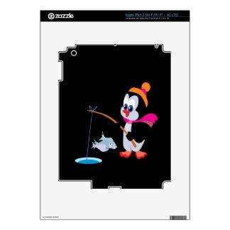 Penguin Ice Fishing 2 iPad 3 Skin