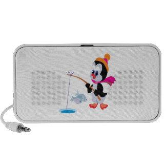 Penguin Ice Fishing 2 Mp3 Speaker