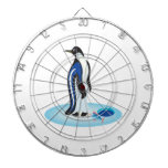 Penguin Ice Fishing Dartboard