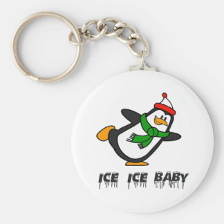 Penguin Ice Ice Baby Keychain
