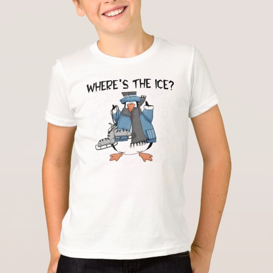 Penguin Ice Skating Tshirts and Gifts