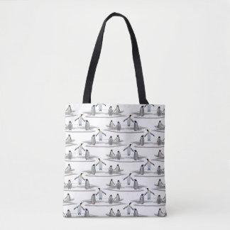 Penguin Iceberg Party All Over Print Bag