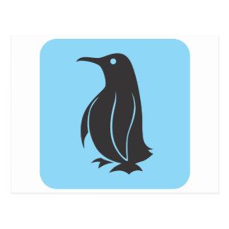 Penguin Icon Postcard