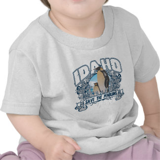 Penguin Idaho Tshirt