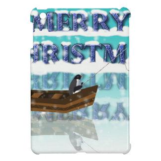 penguin in a boat.jpg case for the iPad mini