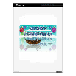 penguin in a boat.jpg decals for iPad 2