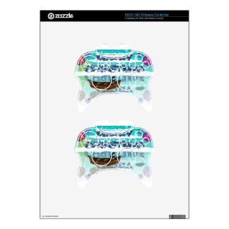 penguin in a boat.jpg xbox 360 controller decal