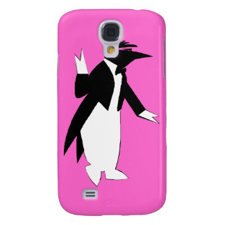 Penguin in a Tuxedo  - Cool As Ice Hipster Galaxy S4 Cover