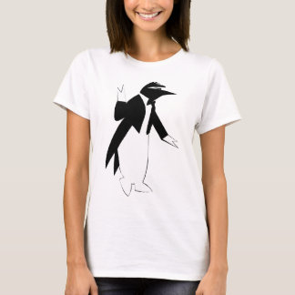 Penguin in a Tuxedo  - Cool As Ice Hipster T-Shirt