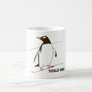 Penguin In Black and White Coffee Mug