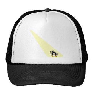 Penguin in the Spotlight Trucker Hat