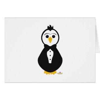 Penguin In Tuxedo Cards