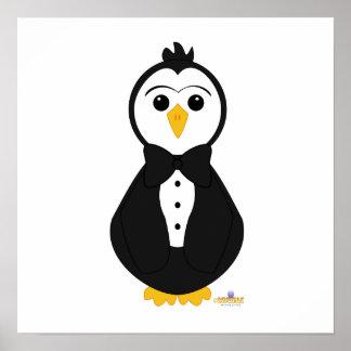 Penguin In Tuxedo Poster