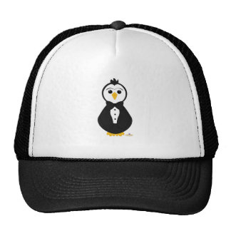 Penguin In Tuxedo Trucker Hat