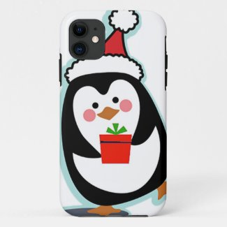 Penguin iPhone 11 Christmas Case for Holidays