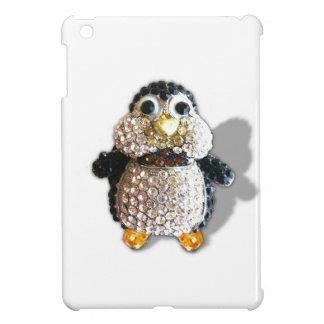 Penguin Jewel Add Text  & Choose Colors You Want iPad Mini Case