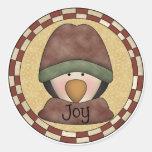 Penguin Joy Sticker