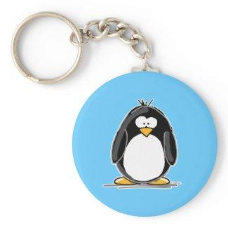 Penguin keychain keychain
