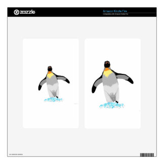 Penguin Kindle Fire Skin