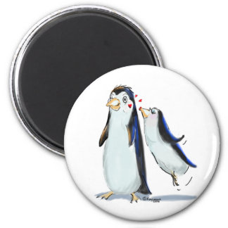 PeNgUiN KiSs 2 Inch Round Magnet