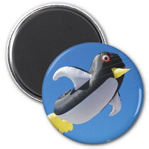 Penguin Kite Fridge Magnets