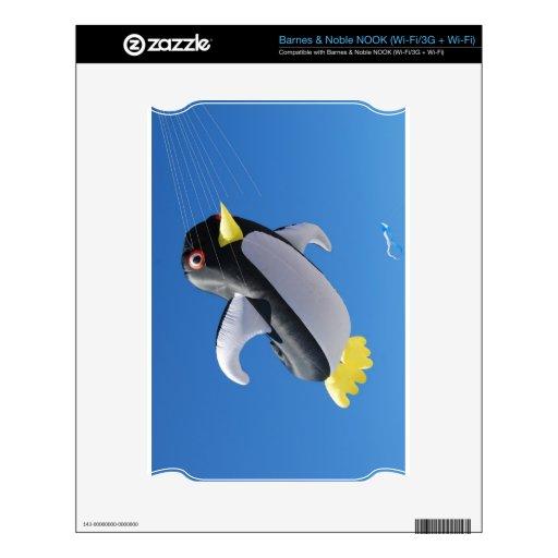 Penguin Kite NOOK Skin
