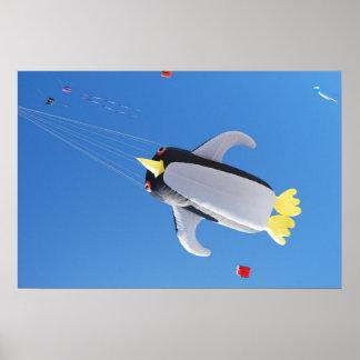Penguin Kite Print