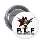 Penguin Liberation Front 2 Inch Round Button
