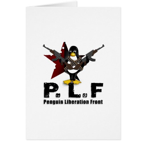 Penguin Liberation Front Cards