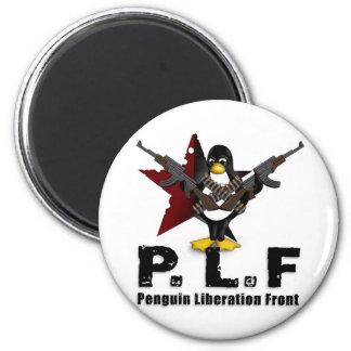 Penguin Liberation Front Magnet