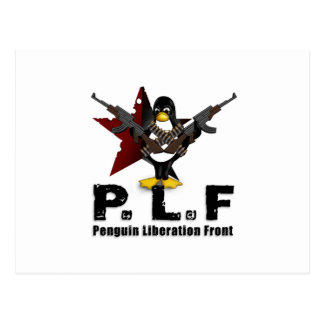 Penguin Liberation Front Postcard