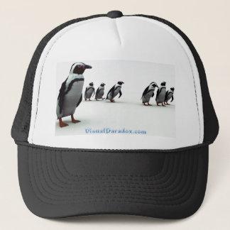 Penguin Line-up Trucker Hat