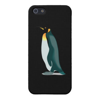 penguin linux image iPhone SE/5/5s case