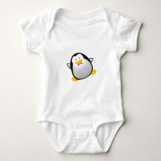 Penguin linux image tux baby bodysuit