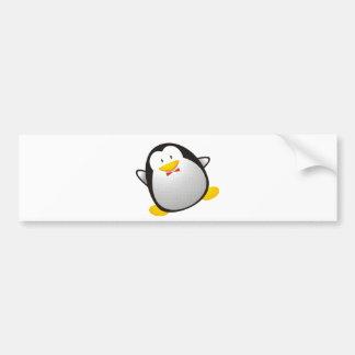 Penguin linux image tux bumper sticker