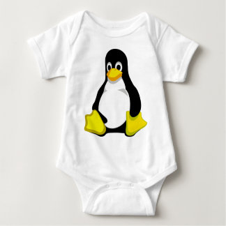 Penguin Linux Tux Baby Bodysuit