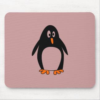 Penguin linux tux image mouse pad