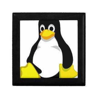 Penguin Linux Tux Jewelry Box