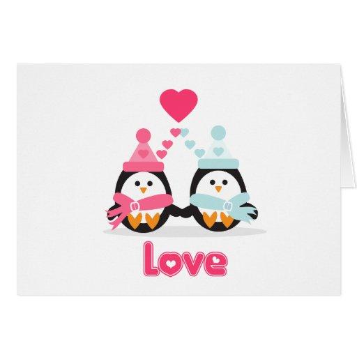 Penguin Love Cards