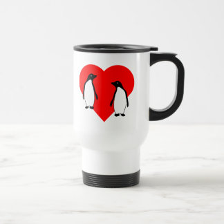 Penguin Love Couple Coffee Mugs