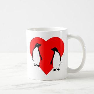 Penguin Love Couple Mugs