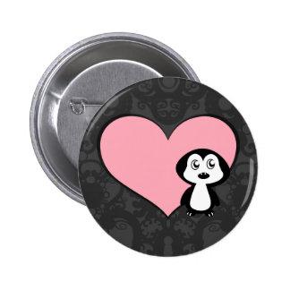 Penguin Love II Buttons