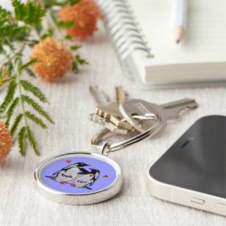 Penguin Love Keychains