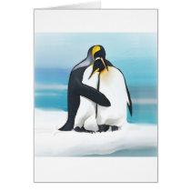 Penguin Love Kisses Card