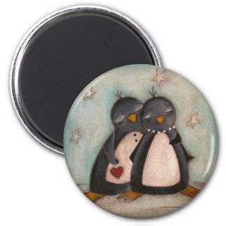 Penguin Love - Magnet