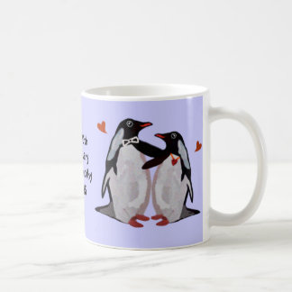 Penguin Love Mugs