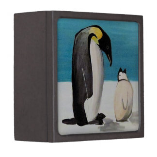 Penguin Love Premium Trinket Box