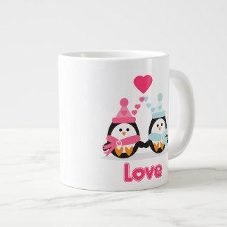 Penguin Love Extra Large Mug