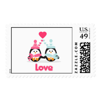 Penguin Love Stamps